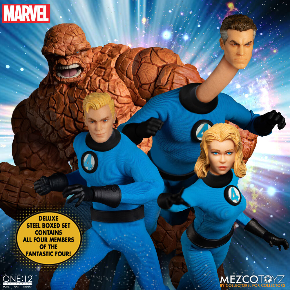 - One:12 Collective Fantastic Four - Steel Boxed Set