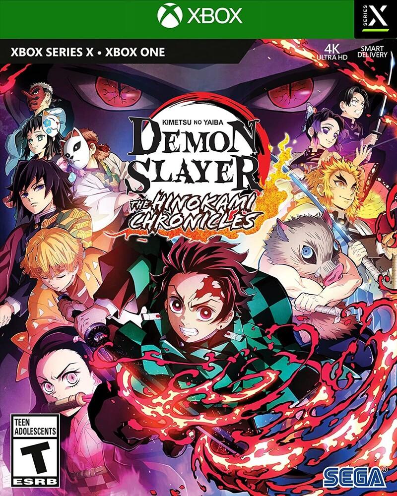 Xb1/Xbx Demon Slayer - Kimetsu No Yaiba - Hinokami - Demon Slayer - Kimetsu no Yaiba - The Hinokami Chronicles for Xbox One and Xbox Series X