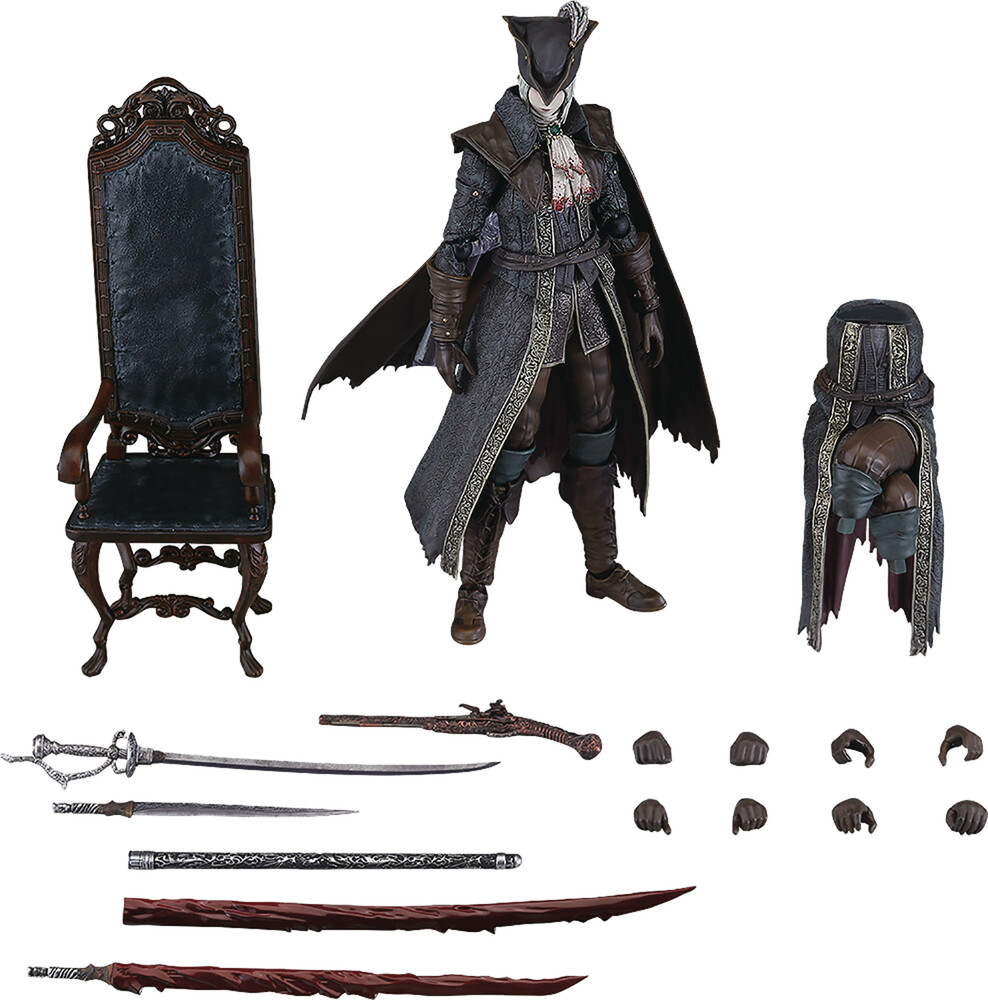 Good Smile Company - Bloodborne Lady Maria Of The Astral Clocktower Fig