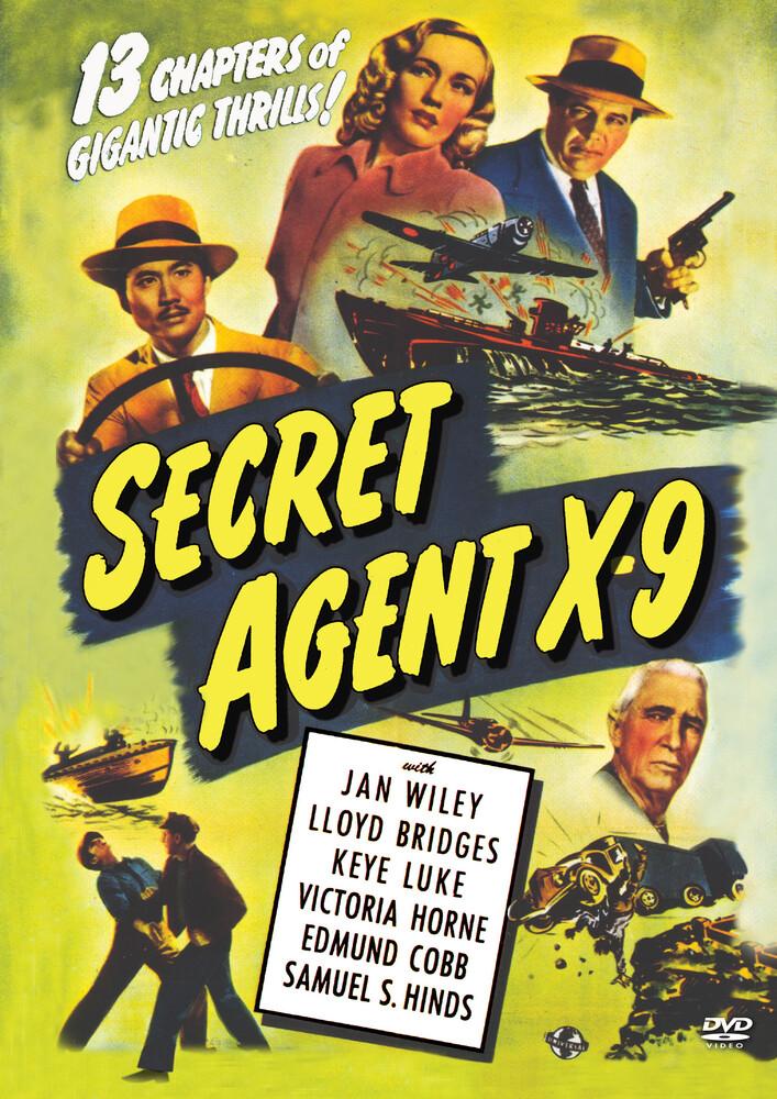 Secret Agent X-9 (1945) - Secret Agent X-9 (1945) (2pc)