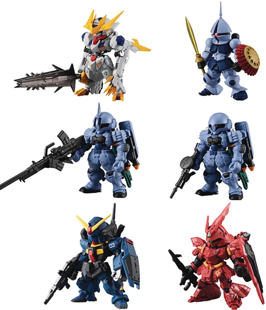 Shokugan - Fw Gundam Converge 10th Anniv #01 (Box Of 10)