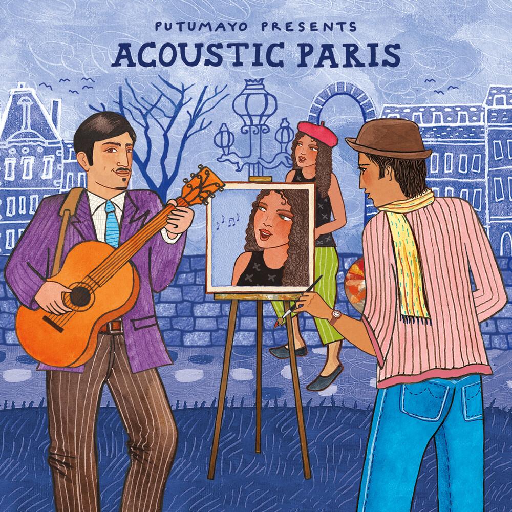 Putumayo Presents - Acoustic Paris [Digipak] [Download Included]