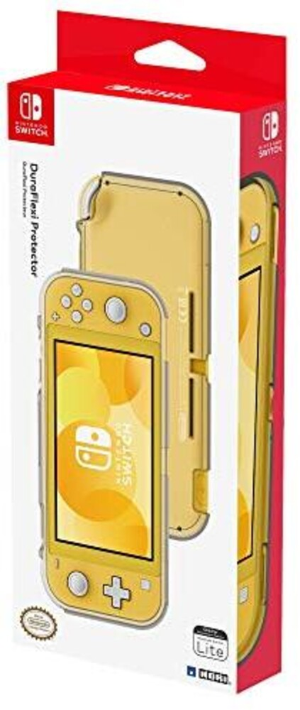 - HORI DuraFlexi Protor Clear for Nintendo Switch Lite