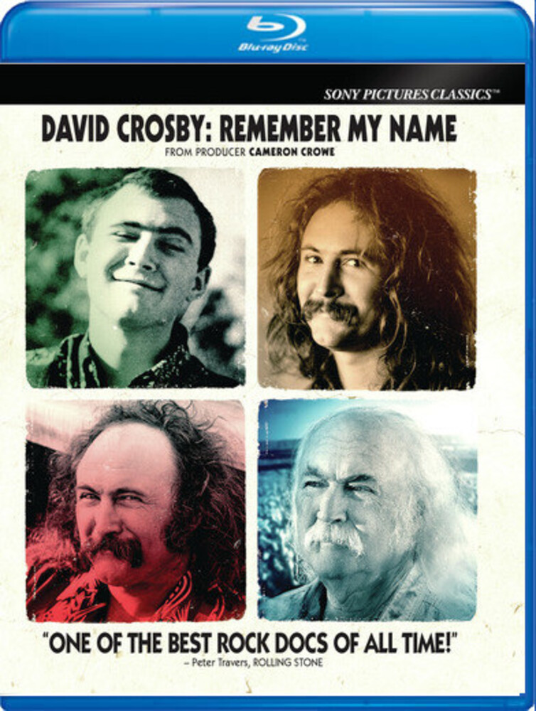 David Crosby - David Crosby: Remember My Name [Blu-ray]