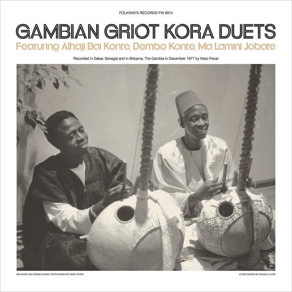 Alhaji Konte Bai / Konte,Dembo / Jobate,Ma Lamini - Gambian Griot Kora Duets