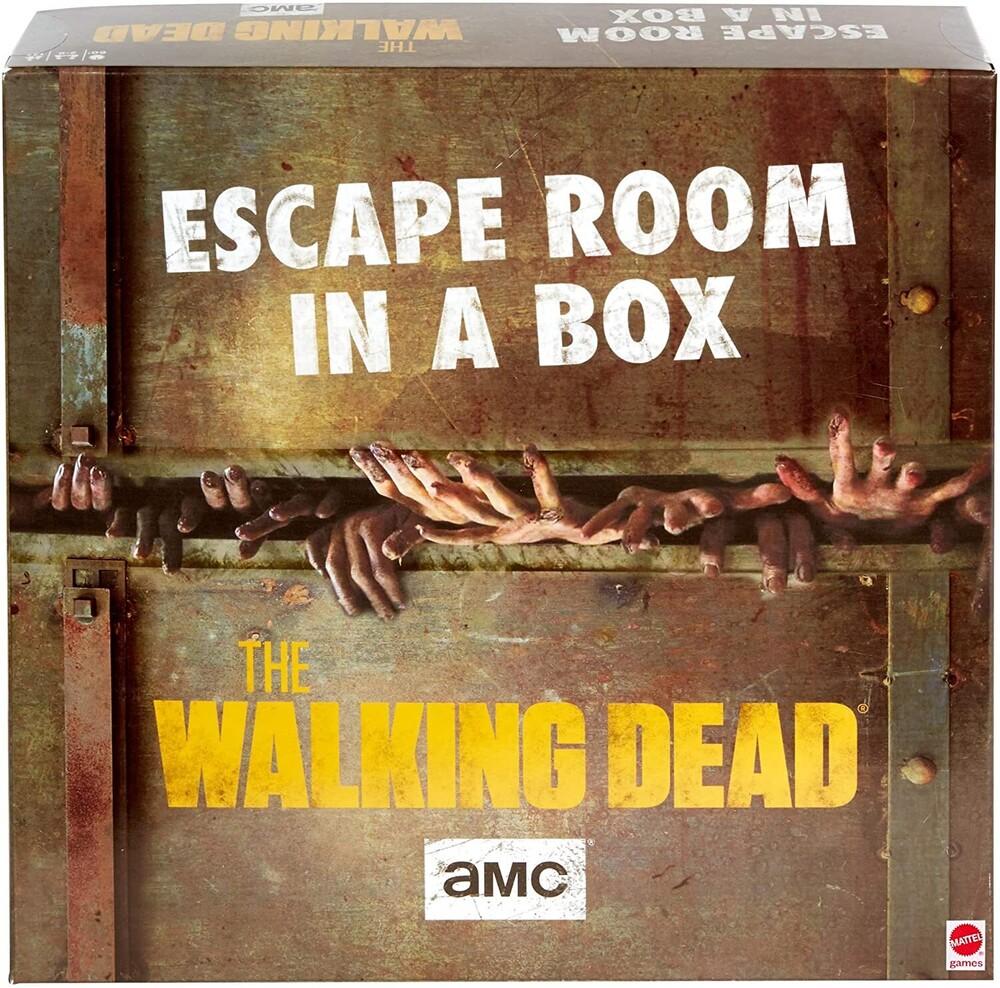 Games - Mattel Games - Escape Room In A Box: The Walking Dead