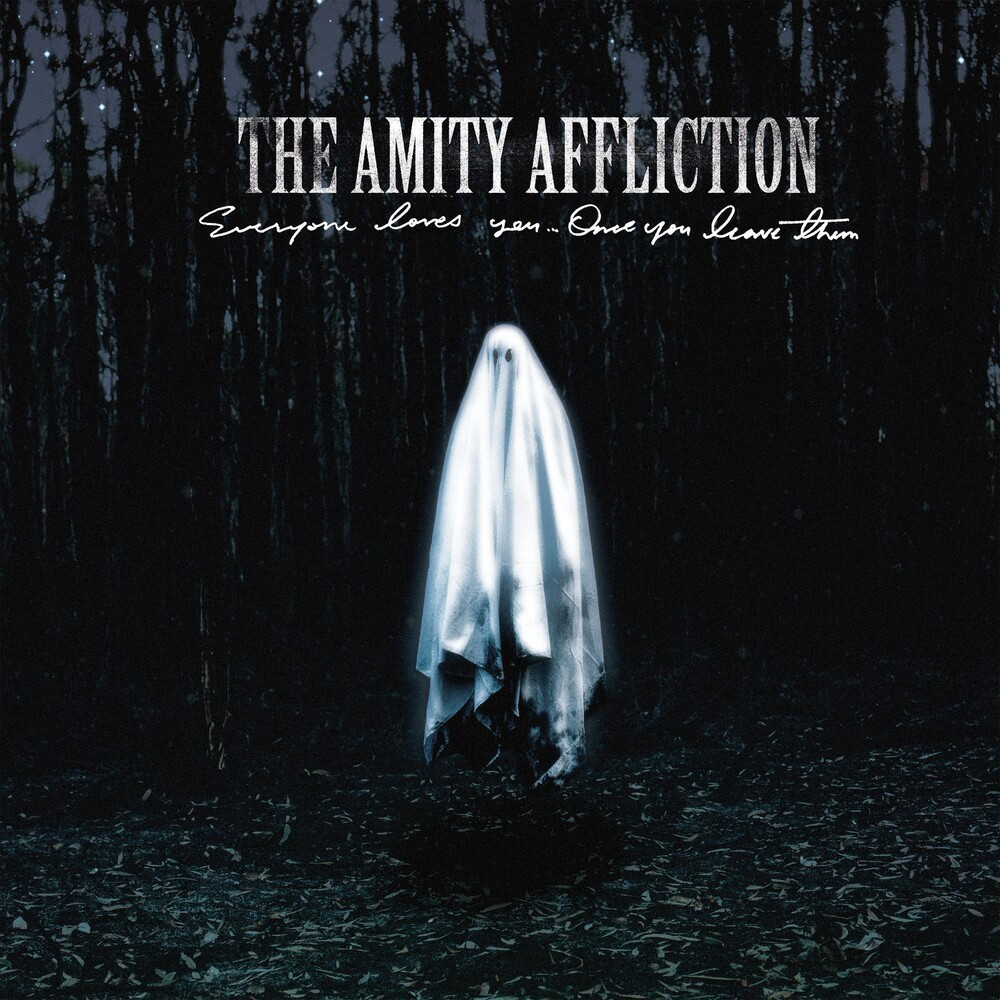 The Amity Affliction - Everyone Loves You... Once You Leave Them [Indie Exclusive Limited Edition Black/White with Grey Splatter LP]
