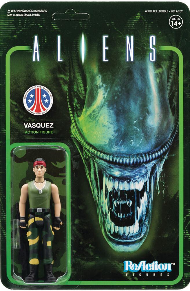 Aliens Reaction Figure - Vasquez - Aliens ReAction Figure - Vasquez