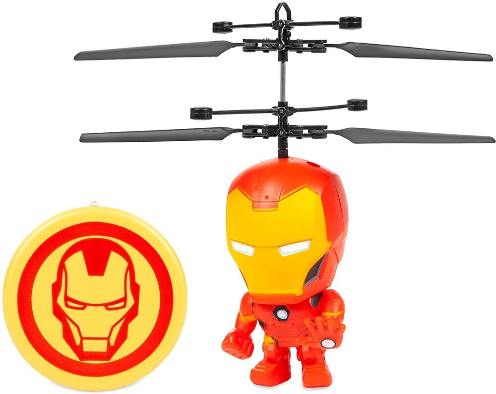 Flying Figure - Marvel 3.5 Inch: Iron Man Flying Figure IR Helicopter (Marvel, Avengers, Iron Man)