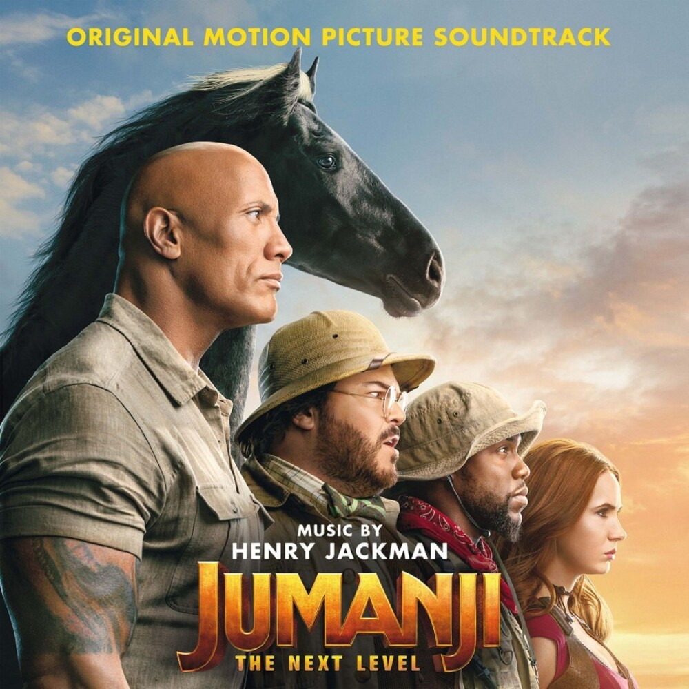 Henry Jackman Colv Ltd Ogv - Jumanji: The Next Level / O.S.T. (Colv) (Ltd)