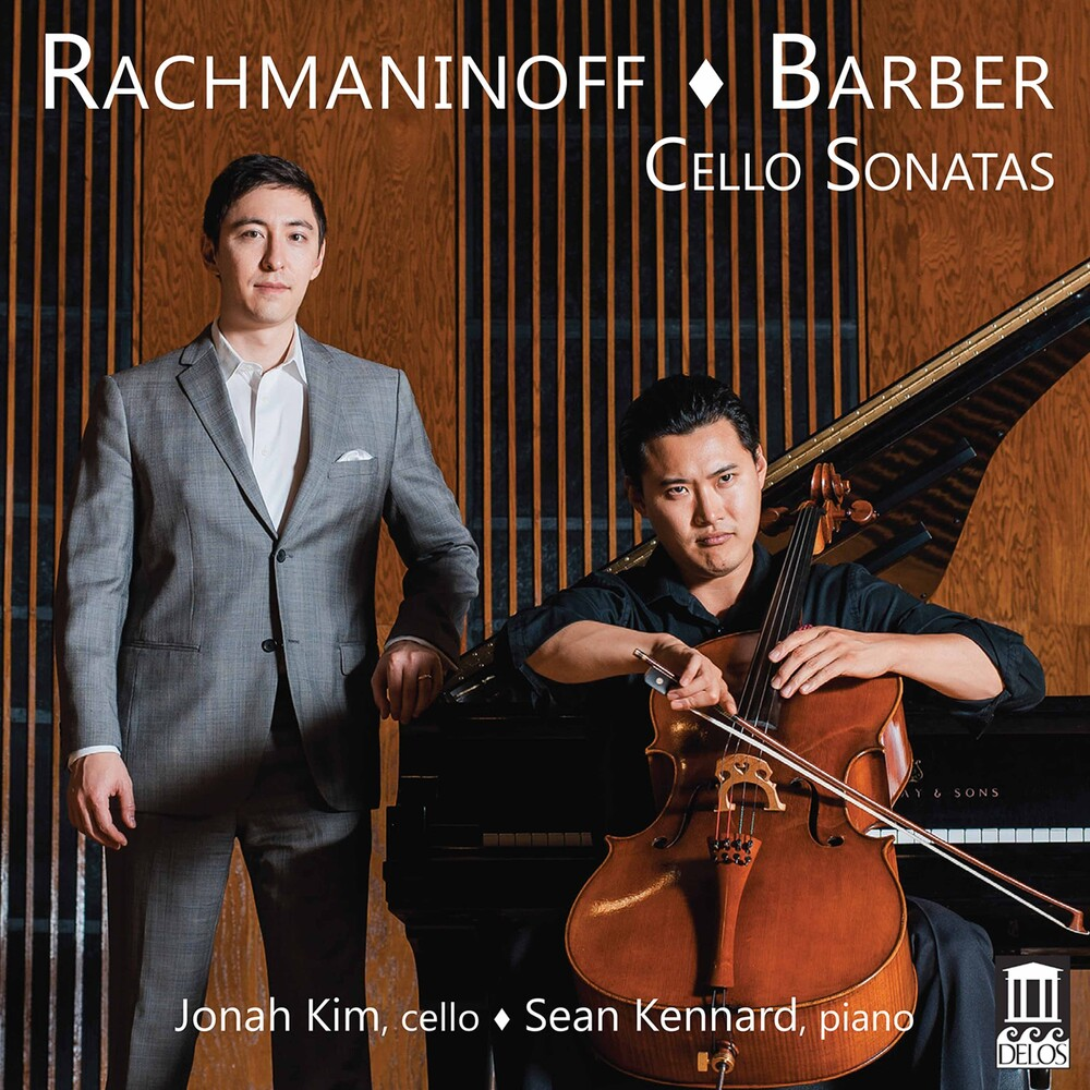 Jonah Kim - Cello Sonatas