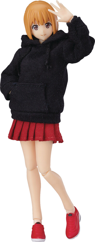 Good Smile Company - Good Smile Company - Emily Female Body W/Hoodie Outfit Figma ActionFigure
