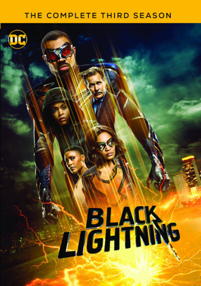 - Black Lightning: Complete 3rd Season (3pc) / (Mod)