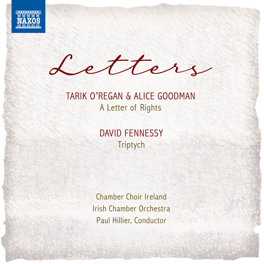 Fennessey / Chamber Choir Ireland / Irish Chamber - Letters