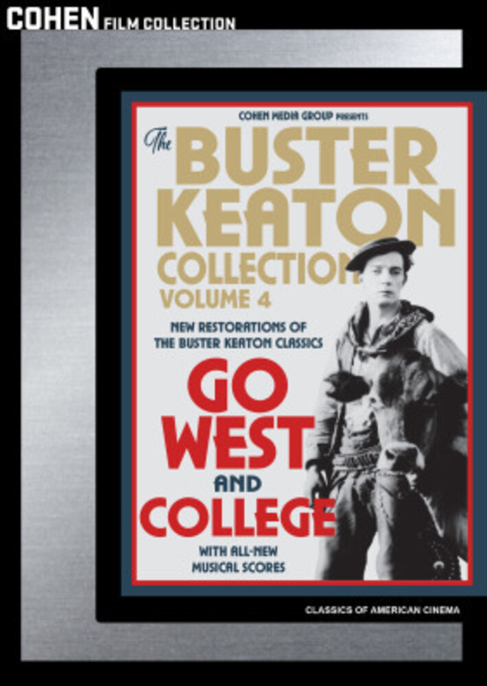 Buster Keaton Collection: Volume 4 - The Buster Keaton Collection: Volume 4 (Go West / College)