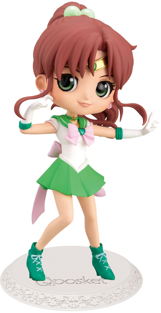 Banpresto - BanPresto - Movie Sailor Moon Eternal Sailor Jupiter Q posket Figure Version 2