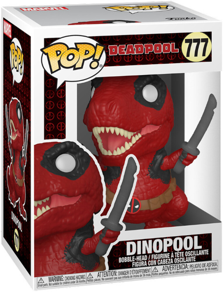 - FUNKO POP! MARVEL: Deadpool 30th- Dinopool