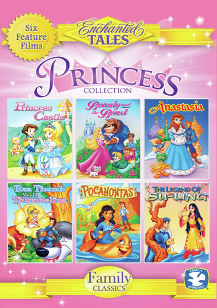 Princess Collection: Princess Castle / Beauty & - Princess Collection: Princess Castle, Beauty And The Beast, Anastasia,Tom Thumb Meets Thumbelina, Pocohontas, And The Legend Of