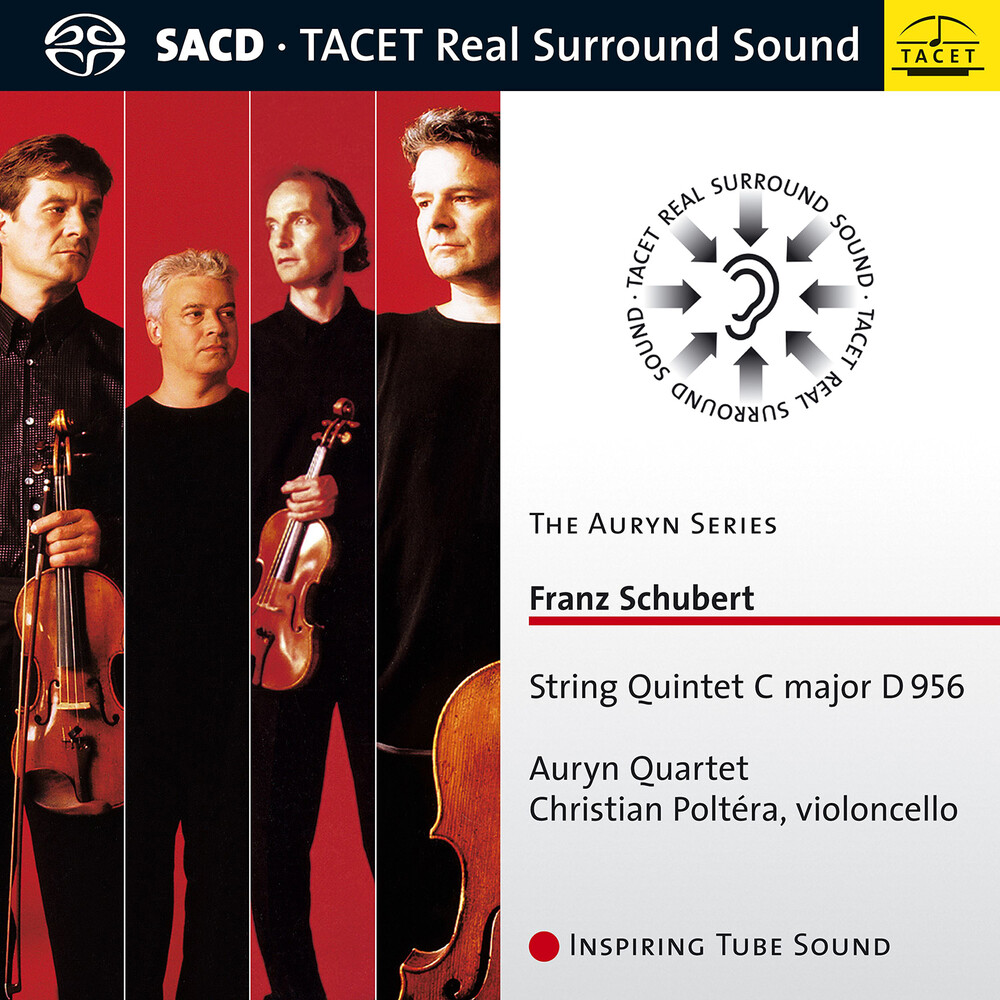 Schubert / Auryn Quartet / Poltera - String Quintet in C Major