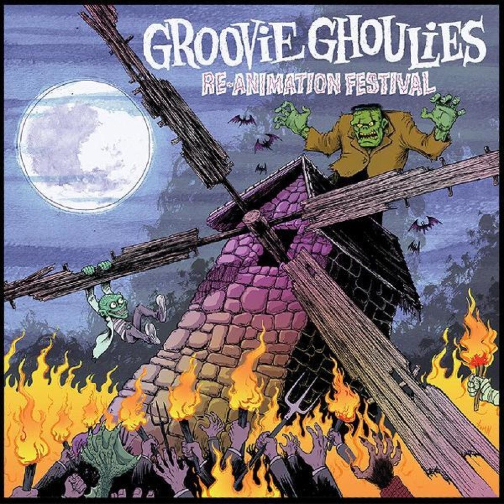 Groovie Ghoulies - Re-Animation Festival (Post) [Digipak]