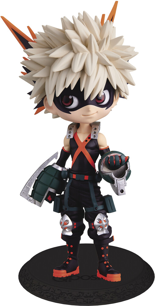 - BanPresto - My Hero Academia Katsuki Bakugo Q posket Figure Version 1