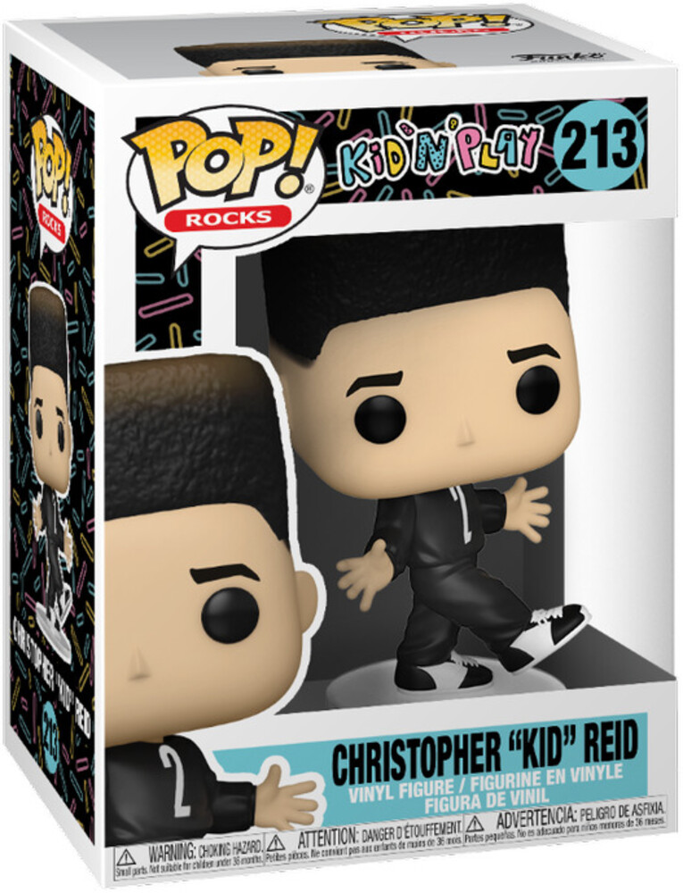 - FUNKO POP! ROCKS: Kid 'N Play- Kid