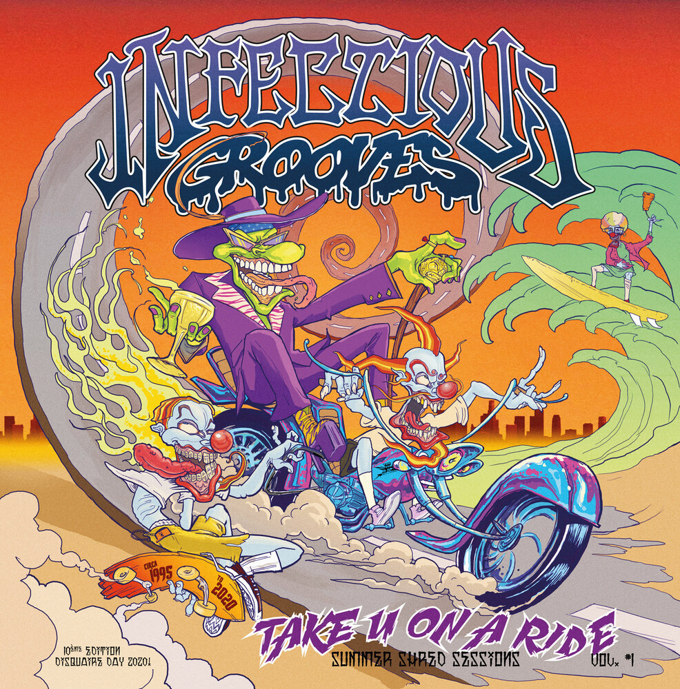 Infectious Grooves - Take You On A Ride (Ep) (Blk) (Ep)