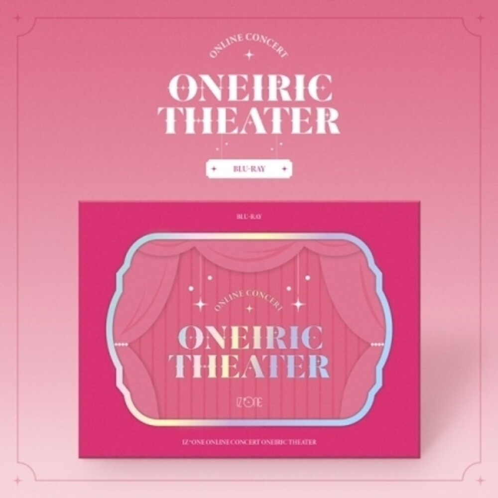 IZ*ONE - Iz*One Online Concert [Oneiric Theater] (incl. 2 Blu-Ray, Music CD, 140pg Photobook, 12pc Photocard Set, 12pc Mini Poster Set +