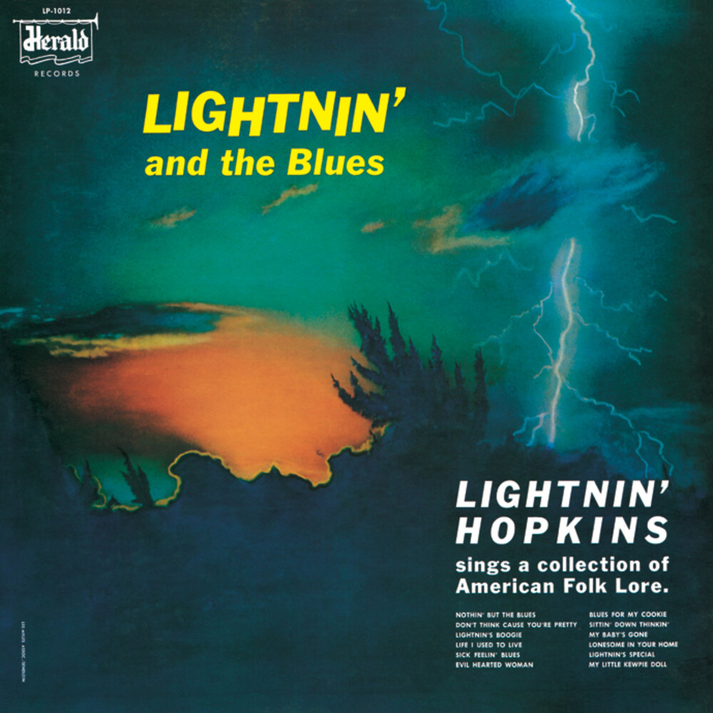 Lightnin Hopkins - Lightnin' And The Blues (Blk)