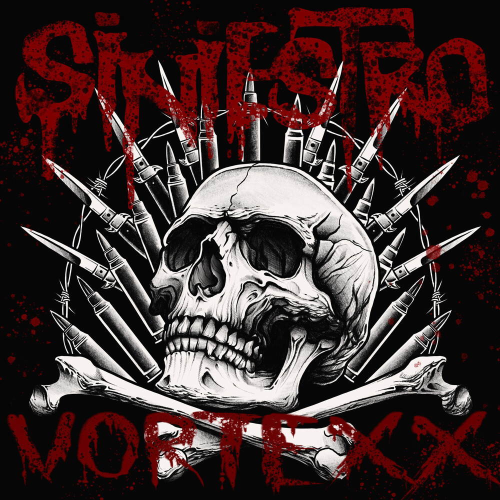Siniestro - Vortexx (Transparent Red Vinyl)