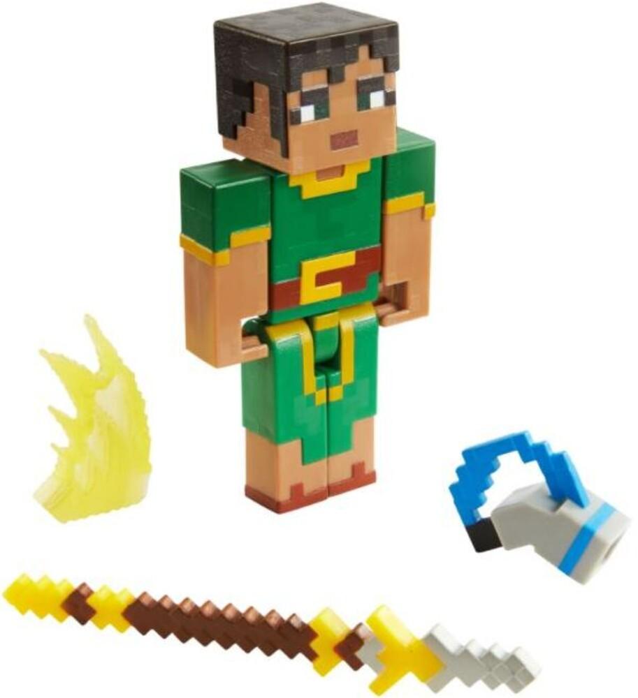 Minecraft - Mattel Collectible - Minecraft Dungeons 3.25 Jade