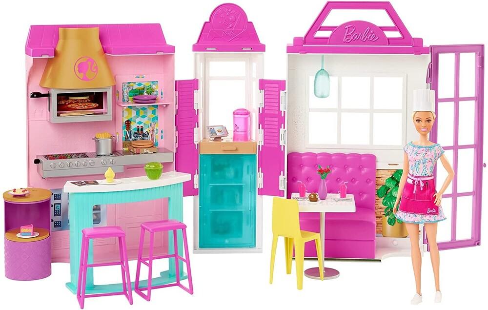 Barbie - Mattel - Barbie Restaurant with Doll