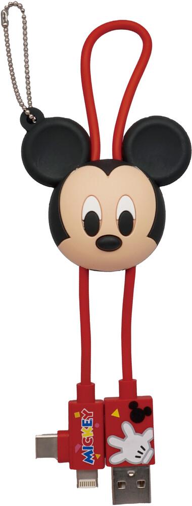 - Disney Mickey 3d Foam Usb Cable Bag Clip (Key)