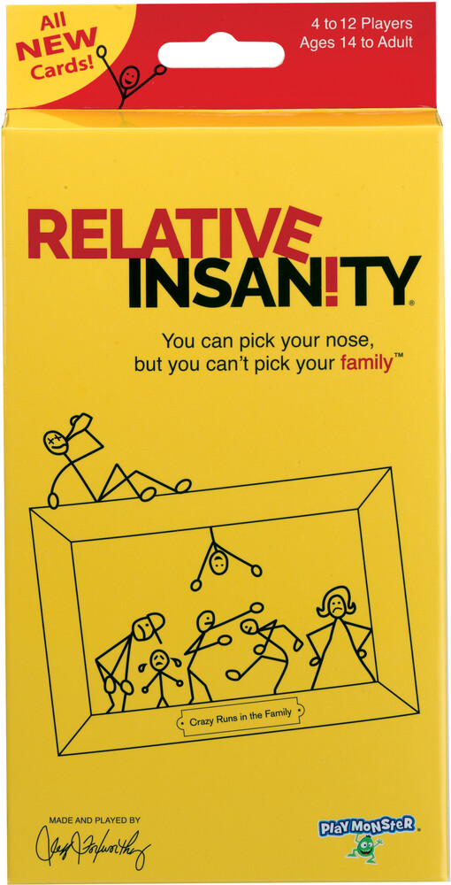 - Relative Insanity Expansion Travel Pack (Crdg)