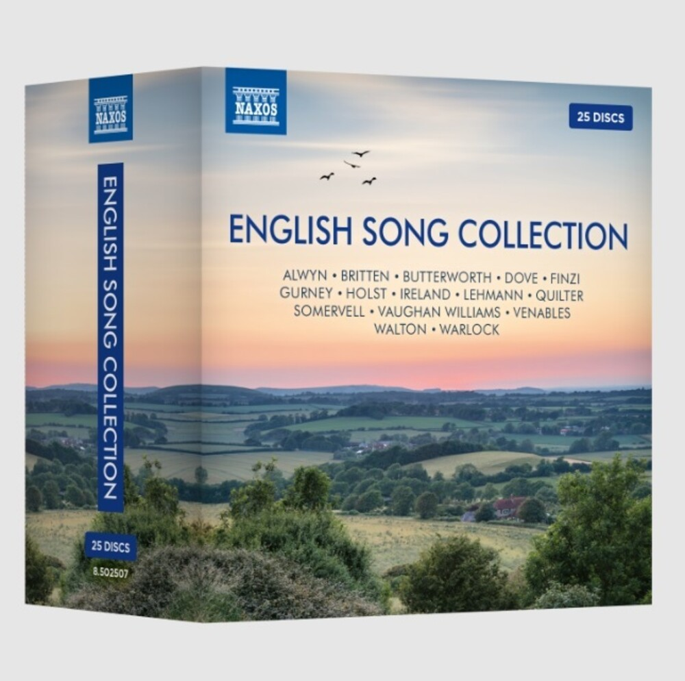 Naxos English Song Collection / Various - Naxos English Song Collection / Various