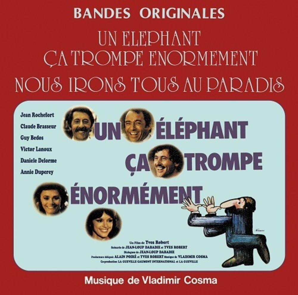 Vladimir Cosma  (Fra) - Nous Irons Tous Au Paradis / Un Elephant Ca Trompe
