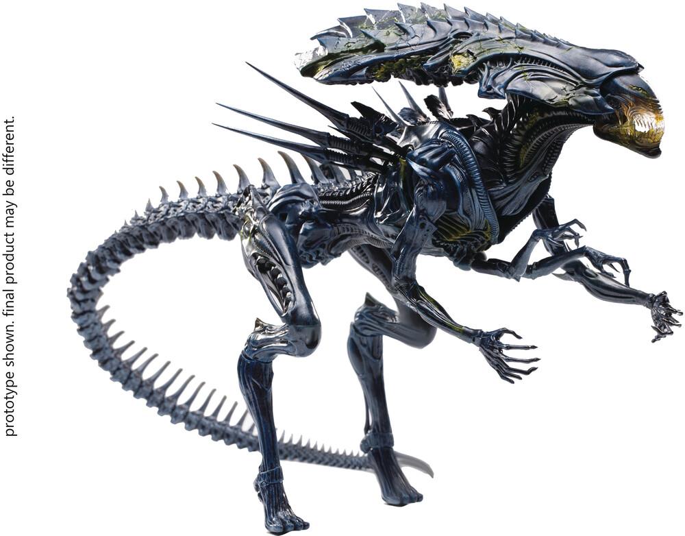 - Avp Battle Damage Alien Queen 1/18 Scale Figure