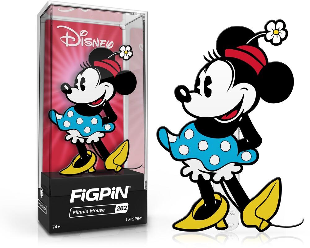 Figpin Minnie Mouse #262 - Figpin Minnie Mouse #262 (Clcb) (Pin)