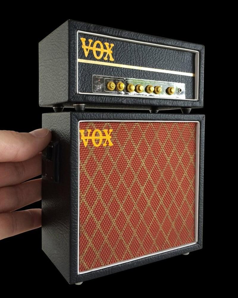 Vox Miniature Amplifier Stack Replica Collectible - Vox Miniature Amplifier Stack Replica Collectible