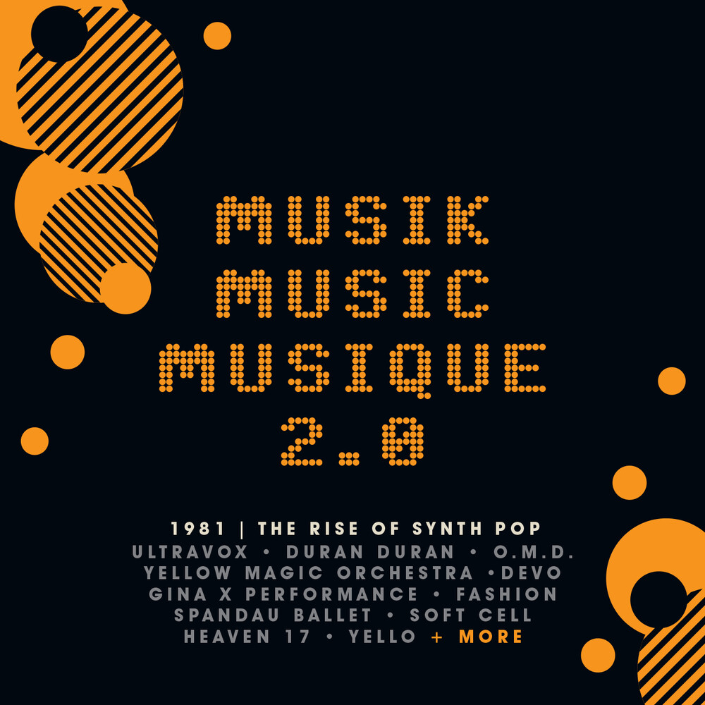 Musik Music Musique 2.0 Rise Of Synth Pop / Var - Musik Music Musique 2.0 Rise Of Synth Pop / Var