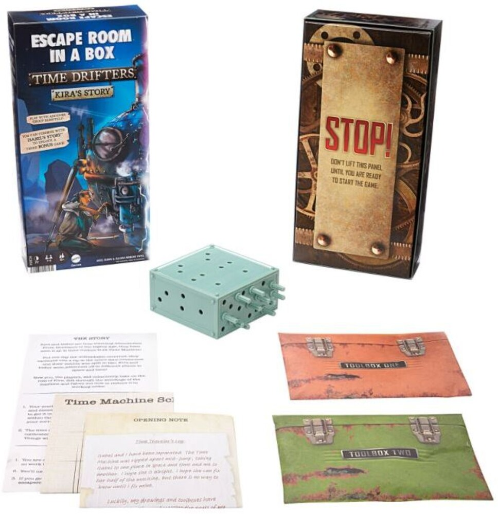 Games - Escape Room Time Traveler Game B (Ttop)