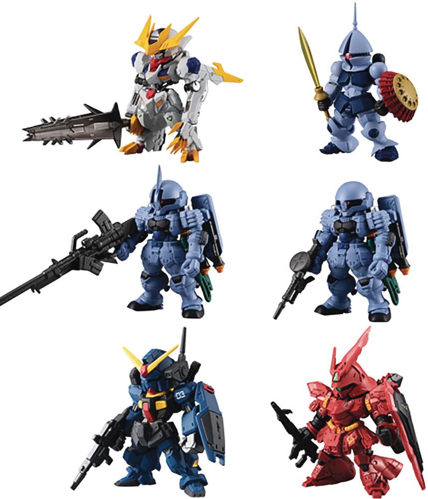 Shokugan - Fw Gundam Converge 10th Anniv # Selection 01 (Set)