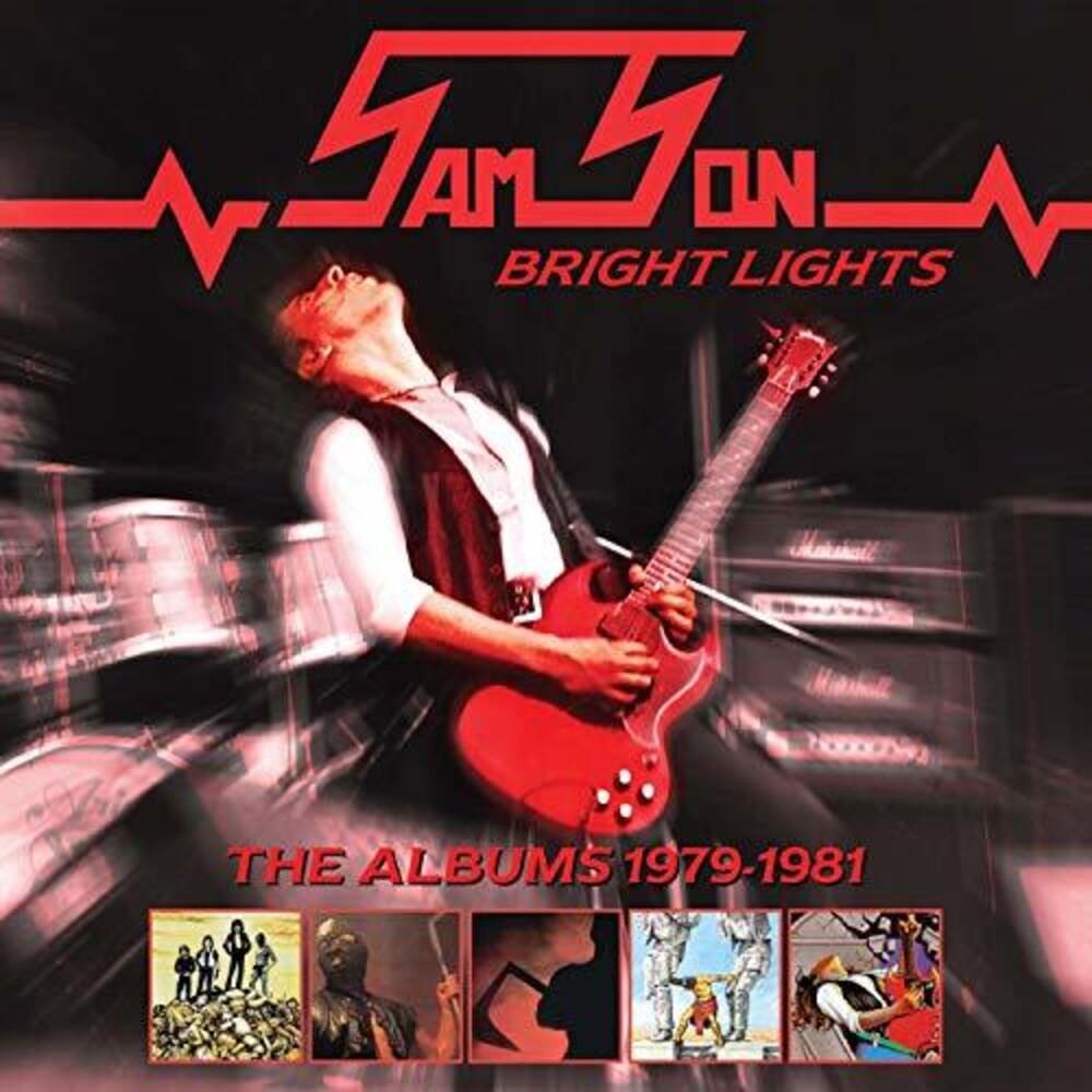 Samson - Bright Lights: Albums 1979-1981 (Boxset)