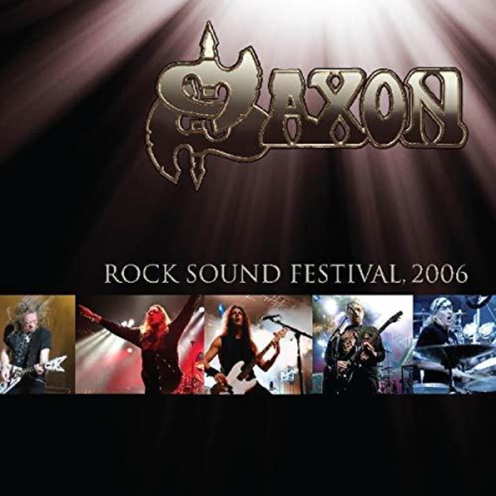 Saxon - Rock Sound Festival: 2006 [Import Gold LP]