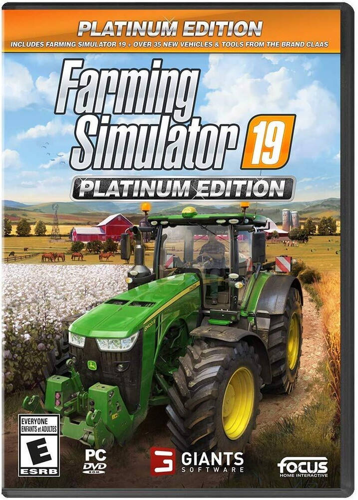 - Farming Simulator 19 Platinum Edition for PC