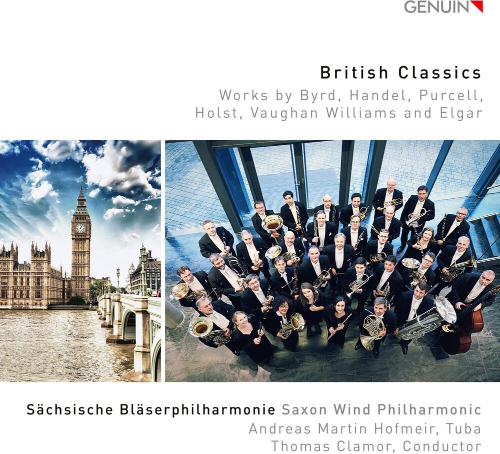 Sächsische Bläserphilharmonie - British Classics