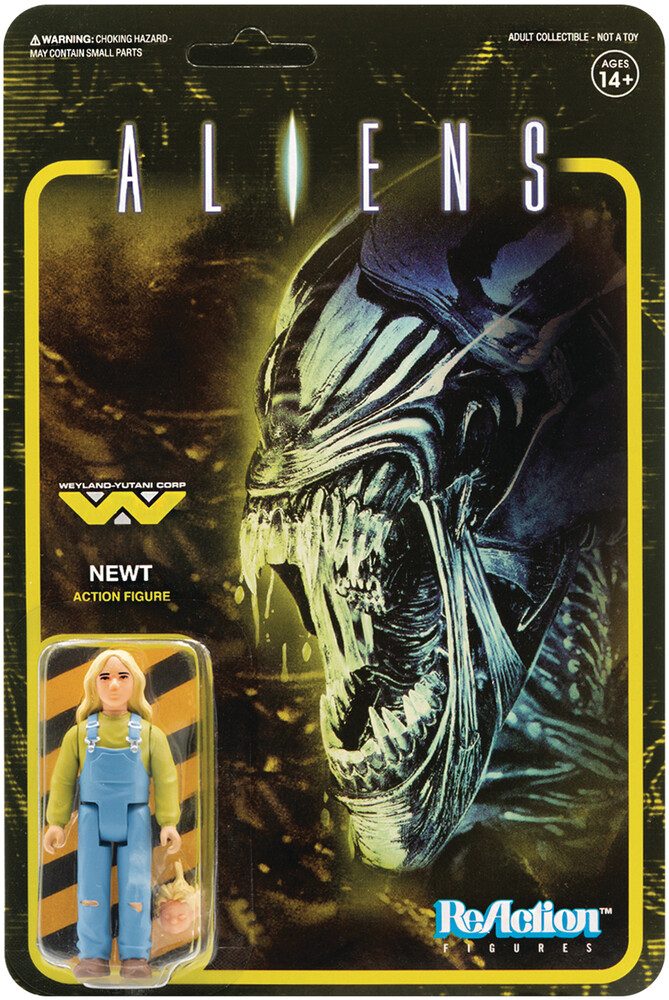 Aliens Reaction Figure - Newt - Aliens ReAction Figure - Newt