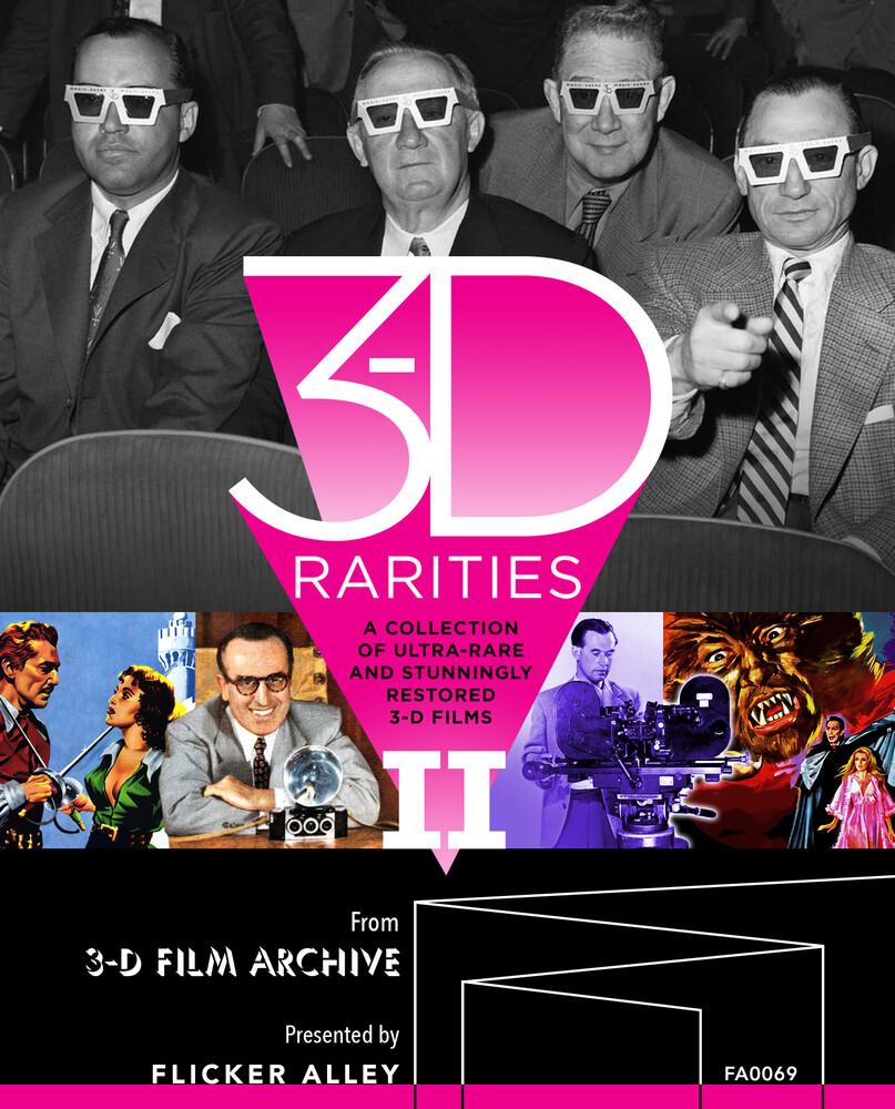 3-D Rarities Volume II - Deluxe Blu-ray Edition - 3-D Rarities Volume Ii - Deluxe Blu-Ray Edition