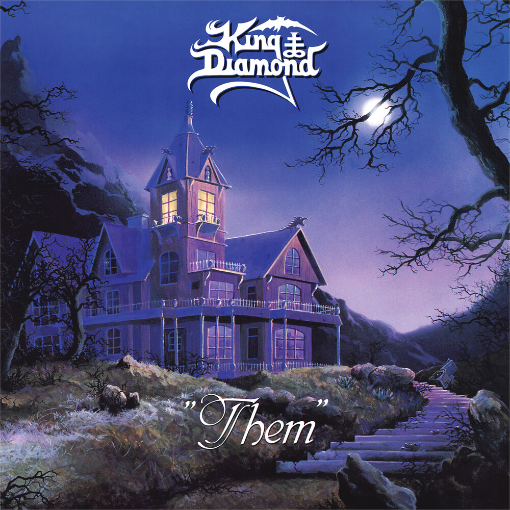 King Diamond - Them [Limited Edition Blue & Black LP]