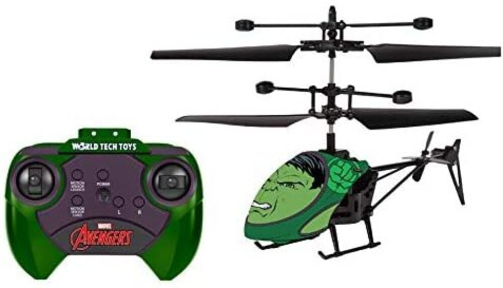 Ir Helicopter - Marvel Hulk 2ch IR Helicopter (Marvel, Avengers, Hulk)